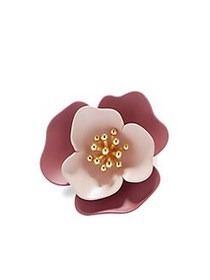 Vince Camuto Flower Ring GOLD
