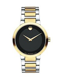 Movado Modern Classic Two-Tone Stainless Steel Bra