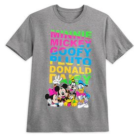 Disney Mickey Mouse and Friends T-Shirt for Adults