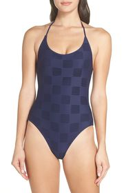 Onia Ginny Textured One-Piece Swimsuit