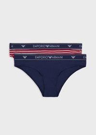 Armani Pack of 2 briefs with logo band