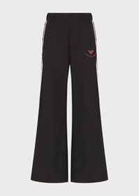 Armani Oversized trousers with side buttons