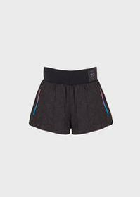 Armani Running shorts in crinkled fabric 7.0