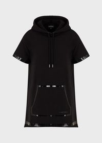 Armani Sweatshirt dress with a trompe-l'oeil, ther