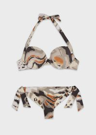 Armani Tropical safari push-up bikini