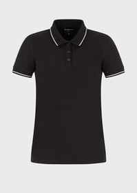 Armani Stretch piqué polo shirt