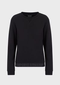 Armani Sweatshirt with elasticated logo band
