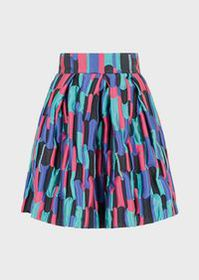 Armani Multi-coloured patchwork skirt