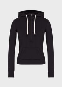 Armani Lycra Travel Essentials hooded sweatshirt w