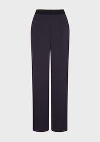 Armani Interlock fabric trousers with the appearan