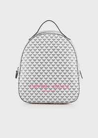 Armani Backpack with all-over monogram