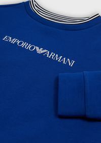 Armani Sweatshirt with logo print on front and bac
