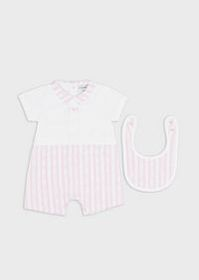 Armani Gift set with romper suit and bib