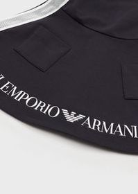 Armani Sweatshirt dress with logo print