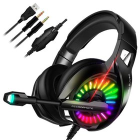 TSV Gaming Headset fits for Xbox One, PS4, PC - wi