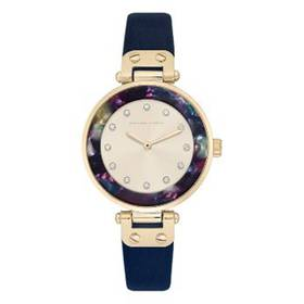 Womens Adrienne Vittadini Sunray Dial Watch - 1378
