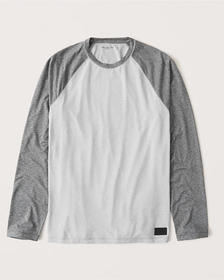 Long-Sleeve Air Knit Moisture-Wicking Tee, LIGHT G
