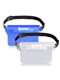 IPOW Waterproof Phone Pouch with Waist/Shoulder St