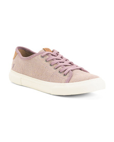 FRYE Canvas Lace Up Sneakers