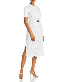 Tory Burch - Eyelet Lace Polo Dress