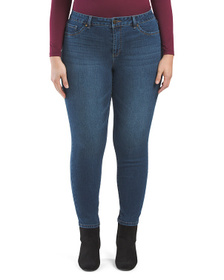 D. JEANS Plus High Waisted Skinny Jeans