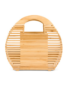 C&C CALIFORNIA Bamboo Round Bag