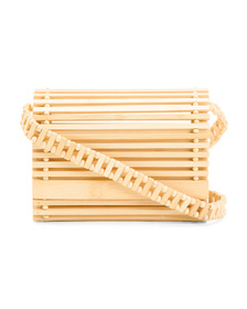 C&C CALIFORNIA Bamboo Slat Crossbody