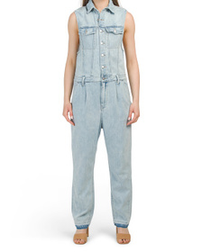 FREE PEOPLE Fast Cars One-piece Jumpsuit