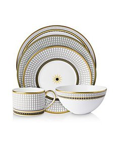 Royal Crown Derby - Oscillate Onyx Dinnerware