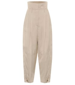 Givenchy High-rise tapered pants