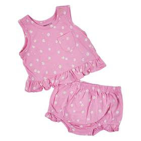 Baby Girl (12-24M) Weeplay Daisy Dot Ruffle Diaper