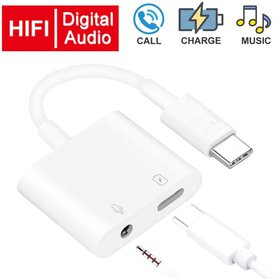 USB C to Headphone Jack Adapter with 3.5mm Aux Aud