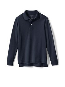Lands' End Boys School Uniform Long Sleeve Sleeve