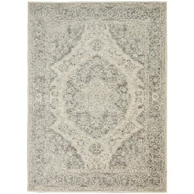 Nourison Tranquil TRA05 Ivory/Grey Indoor Area Rug