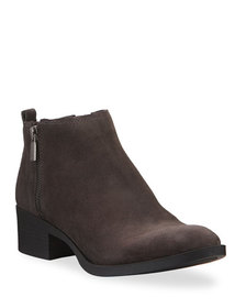 Kenneth Cole Dara Suede Ankle Booties