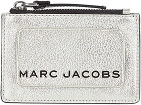 Marc Jacobs The Metallic Textured Box Top Zip Mult