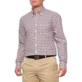 Bobby Jones Travel Multi-Grid Shirt - Long Sleeve