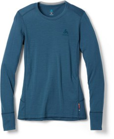 Odlo Naturals Merino Warm Base Layer Top - Women's