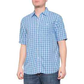 North River Woven Shirt - Short Sleeve (For Men) i