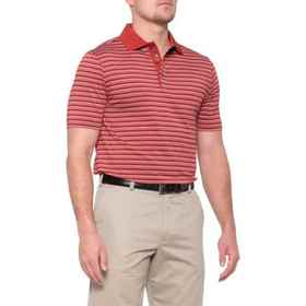 Bobby Jones X-H2O Cooper Stripe Polo Shirt - Short