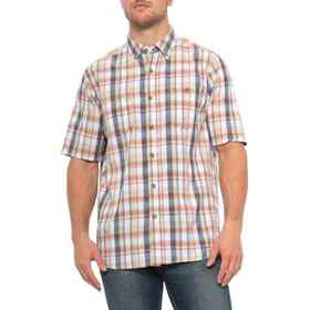 North River Pigment Madras Woven Shirt - Short Sle