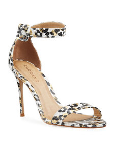 Carrano Hope Snake and Leopard Embossed Evening Sa