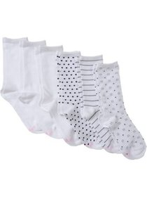 Women's ComfortBlend Crew Socks - 6 Pair