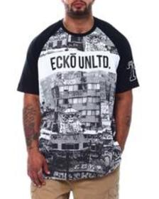 Ecko city scapes s/s knit (b&t)