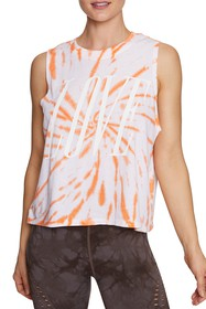 Betsey Johnson Love Tie Dye Graphic Tank Top