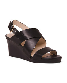 Reveal Designer All Day Comfort Wedged Leather San