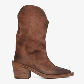 Marsell Tall Suede Western Style Boot