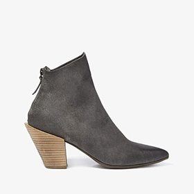 Marsell Stack Heel Suede Boot