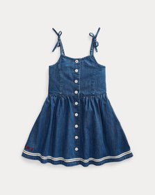 Ralph Lauren Denim Fit-and-Flare Dress
