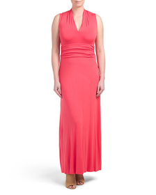 VINCE CAMUTO Halter Maxi Dress